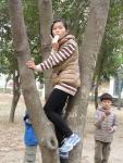 人文公園內開心玩耍